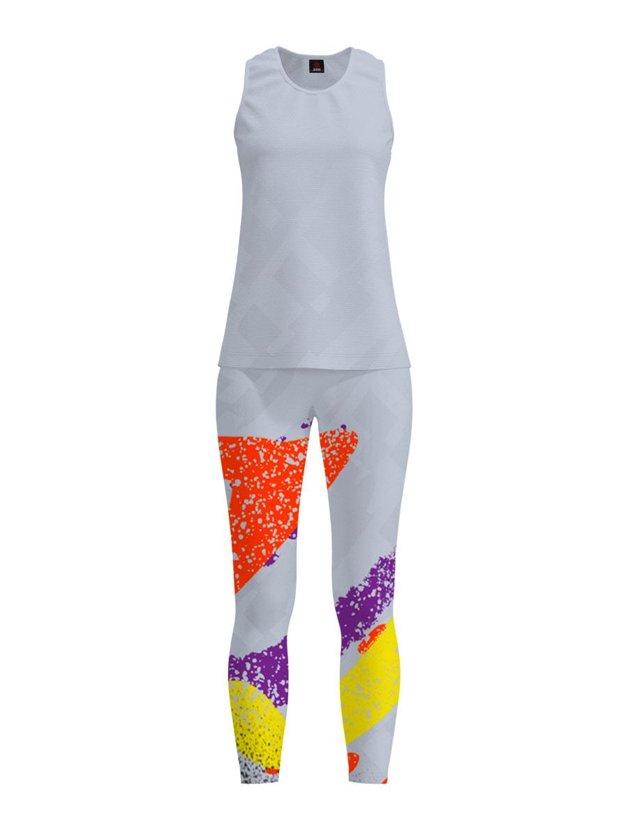 Completo Kit Leggings Running Training Personalizzato
